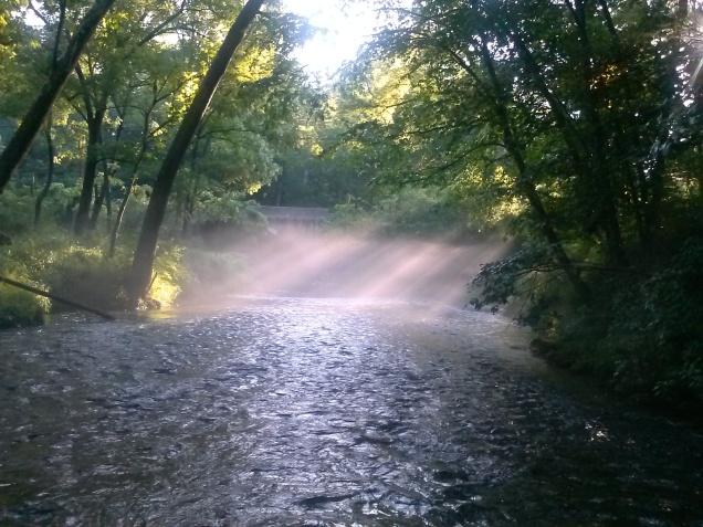 flyfishing Gunpowder river